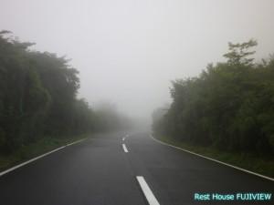 霧の芦ノ湖スカイライン
