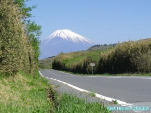 芦ノ湖スカイライン富士山